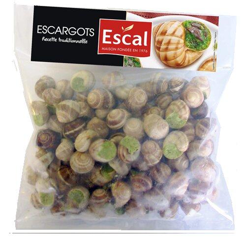 Un sachet de 100 escargots à l'Alsacienne