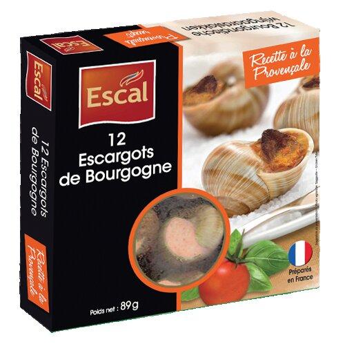 Une boîte de 12 Escargots de Bourgogne à la Provençale