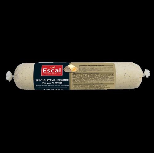 Un rouleau du spécialité du beurre au jus de truffe