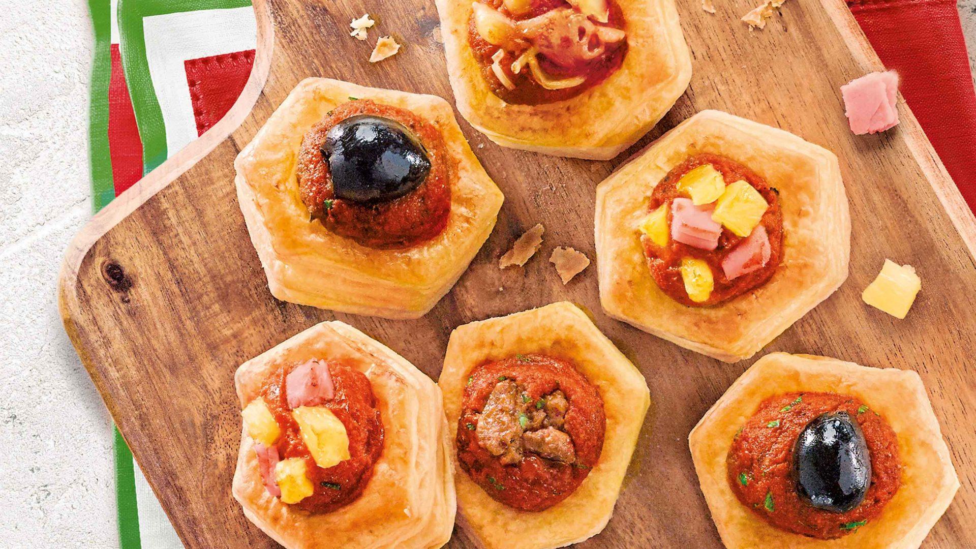 Boîte de 22 apéritifs à l'italienne
